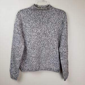 Vintage Talbots Mock Neck sweater M